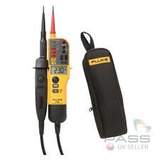 *PROMO* Fluke T130 Two-Pole Voltage Tester & FREE C150 Case + Calibration / UK