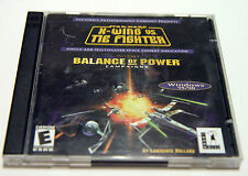 Vintage 2 Disc STAR WARS X-WING VS THE FIGHTER PC Game Win95/98 computer space