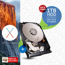 Imac, Mac Pro:: 1TB 7200RPM 3.5:: HDD (disco duro) Os X cargado