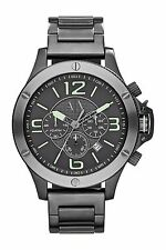 BRAND NEW ARMANI EXCHANGE AX1507 GUNMETAL GRAY STEEL CHRONOGRAPH MEN'S WATCH