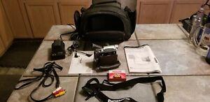 Panasonic PV-DV103 MiniDV Digital Camcorder Bundle w Charger, Battery, Cables