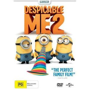 DESPICABLE ME 2 DVD - NEW & SEALED MINIONS FREE POST