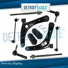 2007 2008 2009-2016 for Dodge Caliber 10pc Front Lower Control Arm Tierod Kit