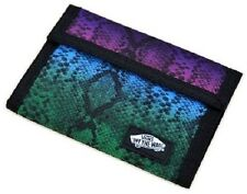 Brand New Vans Off The Wall Solicit Tri Fold Wallet Womens Festiva Snake Print