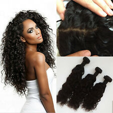 "24""26""28&18INCH LACE CLOSURE BRAZILIAN VIRGIN NATURAL WAVE  SAMEDAY DISPATCH 9"