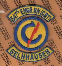 547th Combat Engineer Battalion Constabulary Gelnhausen Germany patch tab