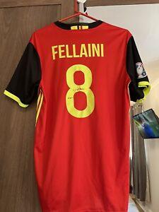 Belgium Fellaini Home Shirt Size M