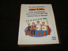 KING OF THE HILL Emmy ad Hank Hill, Dale Gribble, Mike Judge, Boomhauer