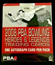2008 Rittenhouse PBA Heroes & Legends Sealed Trading Card Box With Autographs
