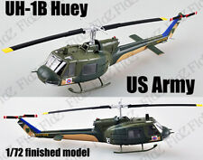 UH-1 Iroquois Huey helicopter US Army 1967 1/72 aircraft no diecast Easy model