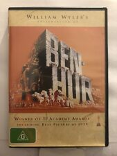 BEN-HUR - WINNER OF 11 ACADEMY AWARDS (R4-PAL-LIKE NEW) - DVD #1134
