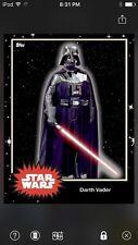 Topps Star Wars Digital Card Trader Black Darth Vader Base 4 Variant