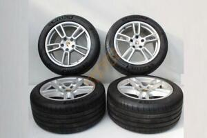 """Genuine Porsche Panamera 4 971 Staggered 19""""  Alloy Wheels And Tyres"""