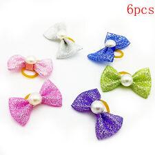 Luxury Pet Dog Hairpin Bow Tie Headdress Hair Clip Gift Teddy Yorkshire Hair Pin