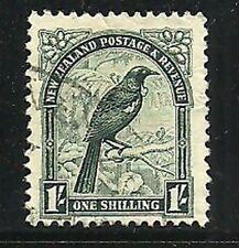 Album Treasures New Zealand Scott # 196  1sh  Parson Bird Fine Used CDS