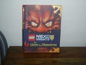 le livre des monstre   lego nexo knights    neuf
