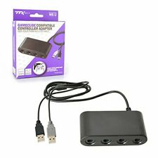 4 Port GameCube Controller Adapter - Nintendo Switch, Wii U and PC USB