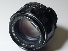Pentax SMC Takumar 50mm 1:1.4 M42 Super Multi Coated Screw Mount Camera Lens