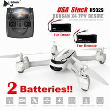Hubsan H502S X4 Drone 5.8G FPV 720P Camera GPS Headless Quadcopter + H111 drone