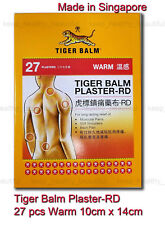 Tiger Balm Plaster-rd (warm) Plasters 9 Pcs 10cm X 14cm Registered Post