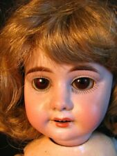 Armand Marseille Porcelain Doll w Long Upper Legs * Glass Eyes * 1894
