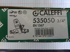 """CALEFFI 535050 valvola di Depressurizzazione CARTUCCIA DN20 3/4"""" RACCORDI mancanti"""