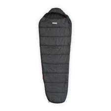 SIGG Schlafsack Mumienschlafsack VS8003, grau/rot, Zelt, Camping, Outdoor, NEU!