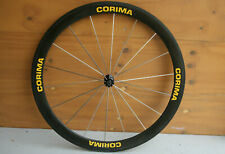 Lightweight French Corima Aero 18 spoke carbon fiber / fibre tubular front wheel