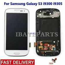 For Samsung Galaxy S3 i9300/i9305 LCD Screen Digitizer Touch + Frame Replacement
