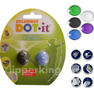 SYLVANIA DOT IT LED LIGHT BUG, WATER RESISTANT