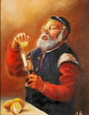 PICTURE OF JEWISH MAN WITH LEMON #1