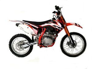 DIRT BIKE 250 ccm CROSS Vollcross Pit 250 125 Enduro Pit pocketbike 19/16 Zoll