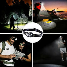 Cree USB Rechargeable Sensor Head Torch Lights Waterproof LED Headlamp Headlight