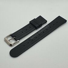 20mm NH35-Watches Rubber Waffle Strap, MM300, Seiko 6105