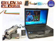 REGISTRATORE/Lettore MiniDV KIT ~ convertire copia mini DV per DVD, Pc + videocamera!