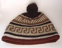TIMBERLAND Nordic Design Wool Knitted Warm Winter Ski Hat NEW NWT