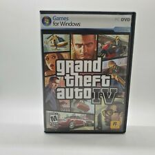 Grand Theft Auto IV 2 PC DVD Disks Live Games for Windows Complete w maps guides