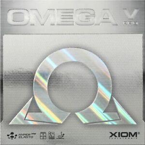 XIOM Omega V PRO MAX Black Table Tennis Rubber