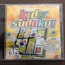 Kids Sudoku Pc Cd-Rom Software Game