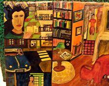 toile - petite peinture huile - realisation 2002