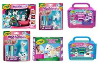 Crayola Creative Toys - Washimals, Cats, Dogs, Saloon, Vet, Safari, Unicorn ...