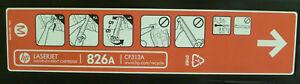 BRAND NEW Genuine HP 826A Magenta CF313A Toner Cartridge Enterprise M855 M855DN