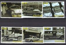 ST VINCENT CANOUAN MNH 2007 100th ANNIV OF NEW YORK CITY TAXICABS PLUS S/SHEET