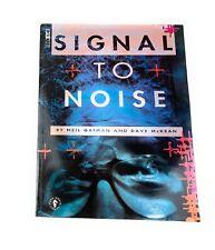Signal to Noise: Neil Gaiman and Dave McKean (1992) Dark Horse Comics