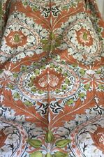 "Vintage William Morris Arts & Crafts Sanderson Eden Linen Mix Fabric 160"" x 50"""