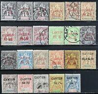 "Vietnam>1901-1903>Used,Unused>Incochinese Post ""CAN-TON"" OVP."