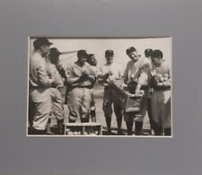 Washington Senators - Spring Training, Tampa 1925 - Vintage Matted Photo Print