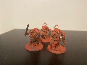 Warhammer 40k space marines Bladeguard Veteran Squad #2