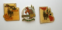 Kentucky Derby Preakness Horse Race Track Racing Hat Pin New NOS 1987 1988 MIB