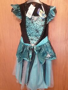 Girls Halloween Dress Age 7-8 Years